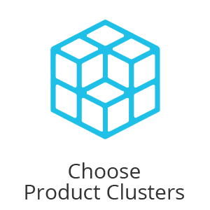 choose product clusters